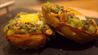 Patates Kasesinde Peynirli Yumurta Tarifi | Yemek Tarifleri | Dilara Geridönmez