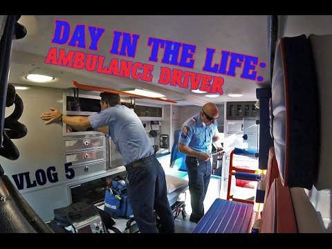 Day In The Life - Ambulance Driver