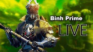 BINH PRIME   FORTNITE ALPHA TOURNAMENT DAY 4   NEW SKIN SPIDER KNIGHT !