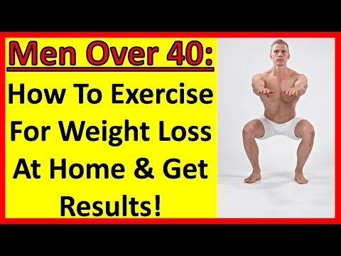 How To Exercise For Weight Loss At Home And Get Results! Men Over 40 | Men Over 50