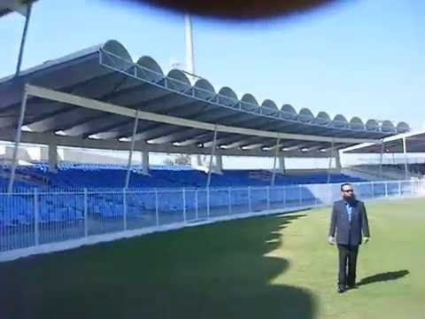 Sharjah Cricket Stadium .UAE