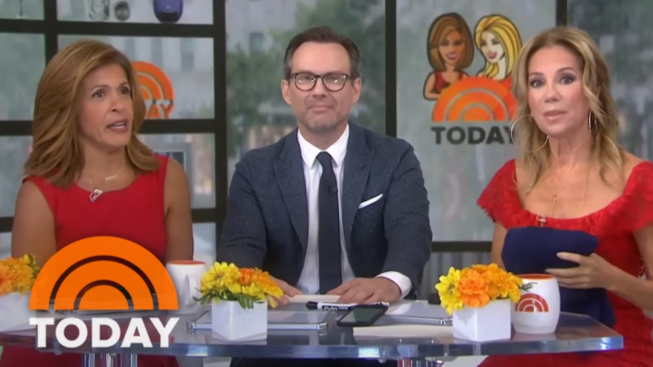 Kathie Lee And Hoda Surprise Christian Slater With A Cake For His Birthday | TODAY