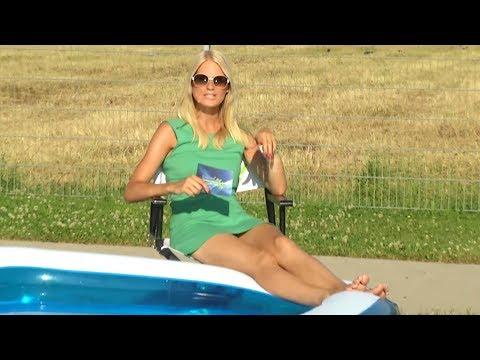 Speeron Jumbo-Planschbecken, aufblasbarer Pool
