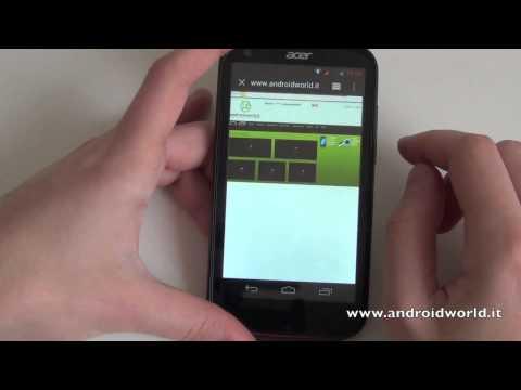 Acer Liquid E1, recensione completa in italiano by AndroidWorld.it