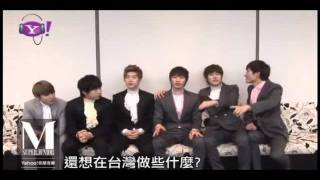 110626 Yahoo! Music Taiwan - SJM Talking