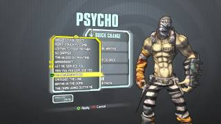 Borderlands 2 - Psycho Madness Pack (I WANNA BE WANTED/I'LL NEVER GO BACK)