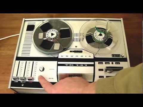 Grundig TK141 - Four Track Reel To Reel Tape Recorder 1970