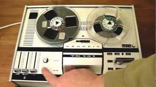 Grundig TK141 - Four Track Reel To Reel Tape Recorder 1970