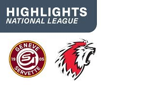 Genf vs Lausanne 4:2 - Highlights National League