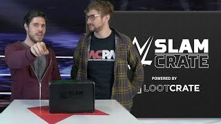 WWE Slam Crate May Unboxing