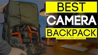 BEST Camera BackPack - Manfrotto Street BackPack Review