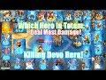 TOTEM Killing Devo Hero!Which Hero Deal Most Damage In Totem?Castle Clash