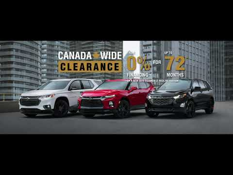 Chevrolet Canada Wide Clearance @ Eagle Ridge GM In Coquitlam