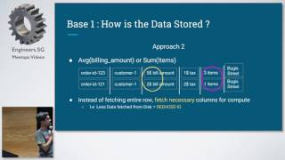 De-mystifying Data Stores - PyData Singapore