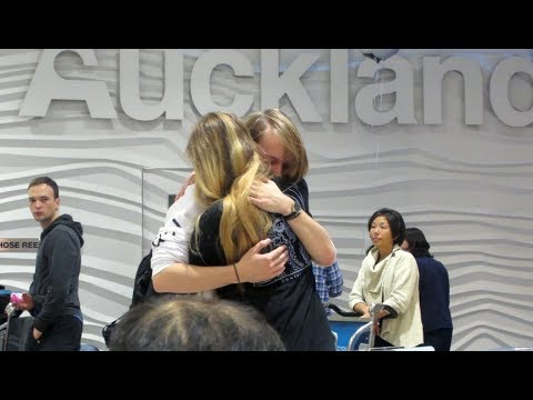 Meeting my boyfriend for the first time // LDR Denmark to New Zealand