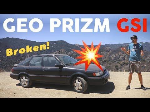 1991 Geo Prizm GSi - Rare, Dirty, & Broken!