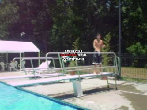 Awesome Diving Board Tricks Youtube