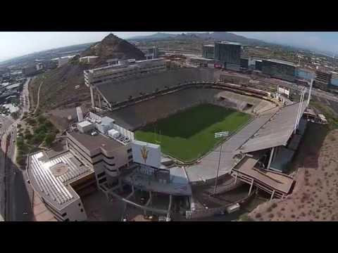 Sun Devil Stadium Drone
