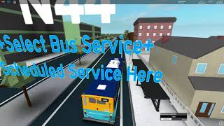 Route N44 +Select Bus Service+ From Queensveiw To The Bronx Zoo (NTA) [Roblox]