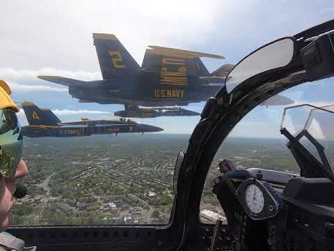 U.S. Navy Blue Angles - Washington, D.C. - Operation America Strong Flyover