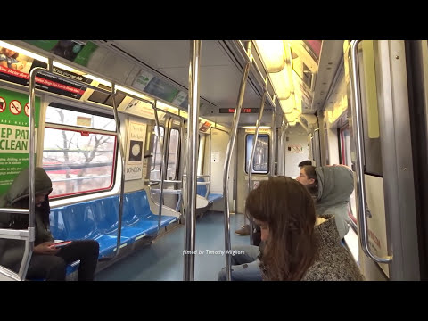 The PATH Train System 2017 - The Subway Between New York and New Jersey