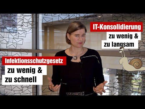 Neues zu: Infektionsschutzgesetz, IT-Konsolidierung und Digitale Bildung (17.11.2020)