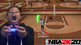 I TOOK MY OFFENSIVE THREAT TO THE 1v1 COURT WITH ALL BRONZE BADGES ON NBA 2K20!