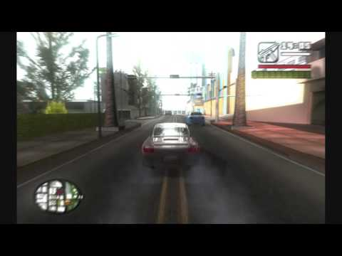 ENB Series - Gta San Andreas - Optimised For 9600gt - [ With Config .ini ] [HD]