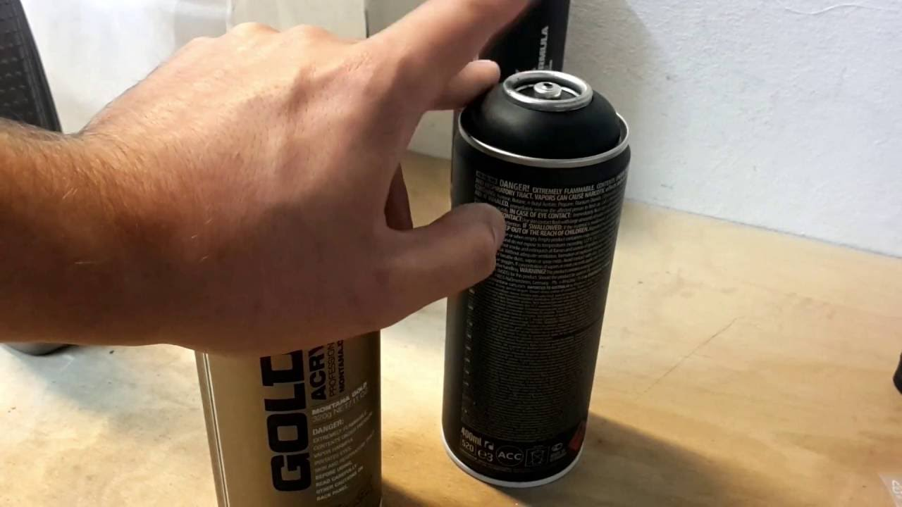 schnell einfach g nstig mit graffiti spraydosen lackieren teil 1 youtube
