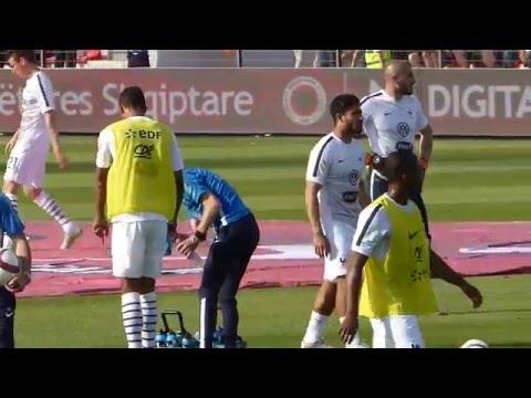 Raphaël Varane ● Maxime Gonalons ● Geoffrey Kondogbia ● Albania vs France 2015