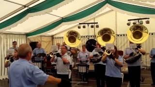 Der Fanfarenzug Salzgitter in Werben an der Elbe (Teil 1)