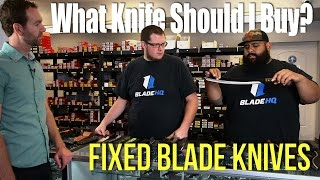 What Knife Should I Buy? | Fixed Blade Knives