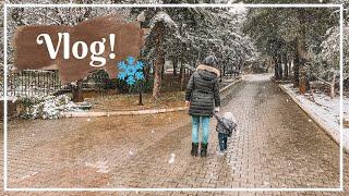 Vlog: Έπεσε χιόνι κι εγώ μαζί του κάτω  🙈 ❄️ | Marinelli