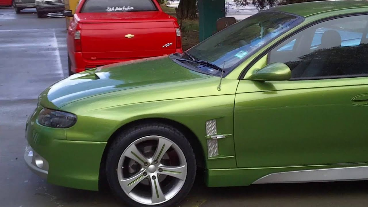 Holden Vt Vx Commodore Bodykits Monaro Bodykit Custom