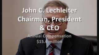CEOs Exposed: Top 10 Pharmaceutical Companies