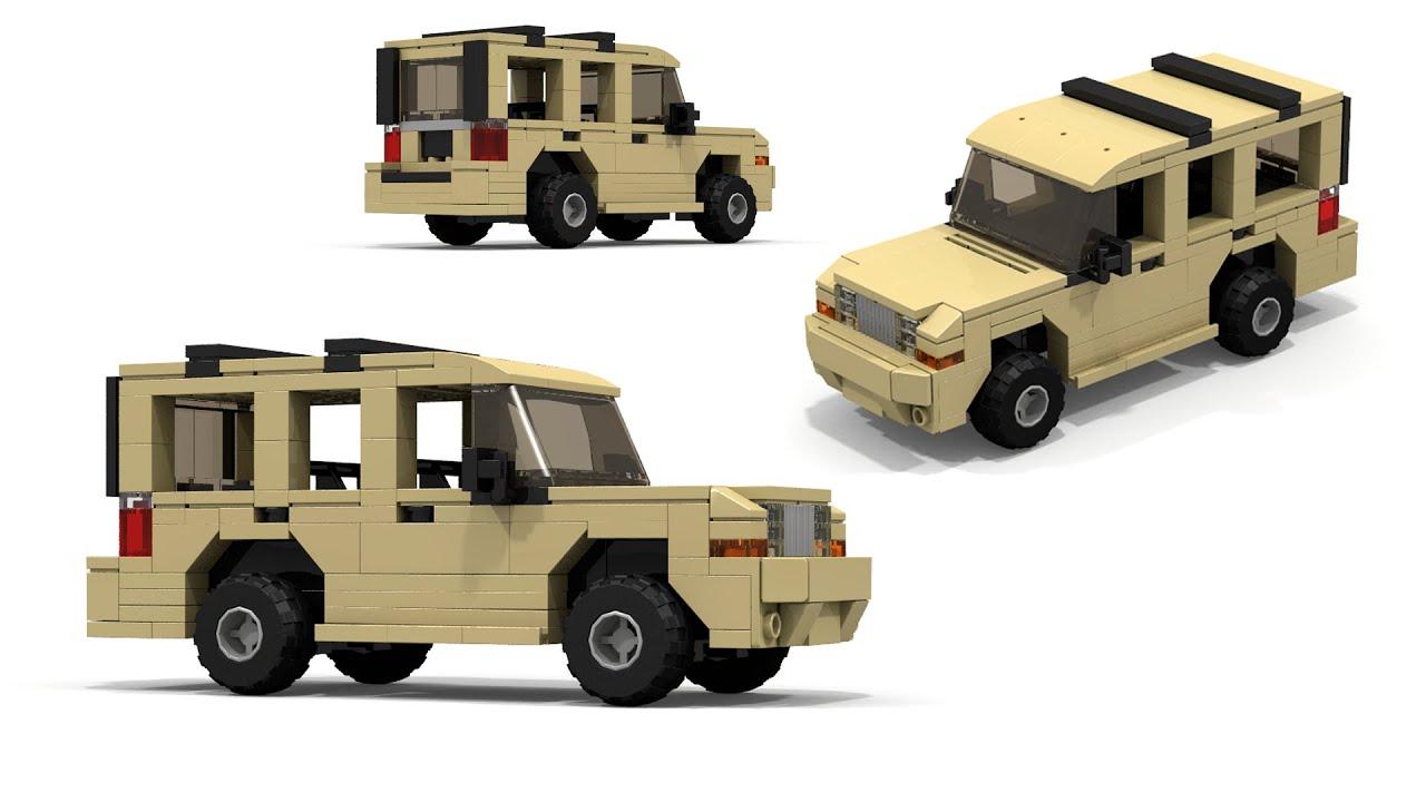 Lego Jeep Commander Instructions Youtube