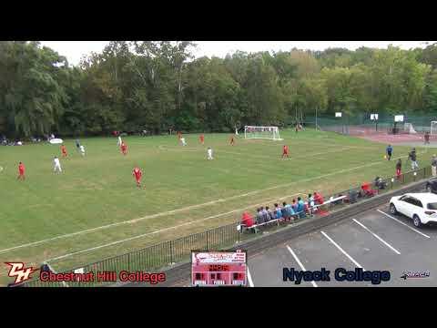 Men's Soccer - Chestnut Hill College vs Nyack - 9/30/2017 (Pan Camera)