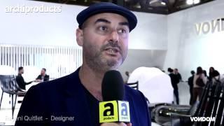 Salone del Mobile.Milano 2017 | VONDOM - Eugeni Quitllet ci racconta la collezione outdoor Ibiza