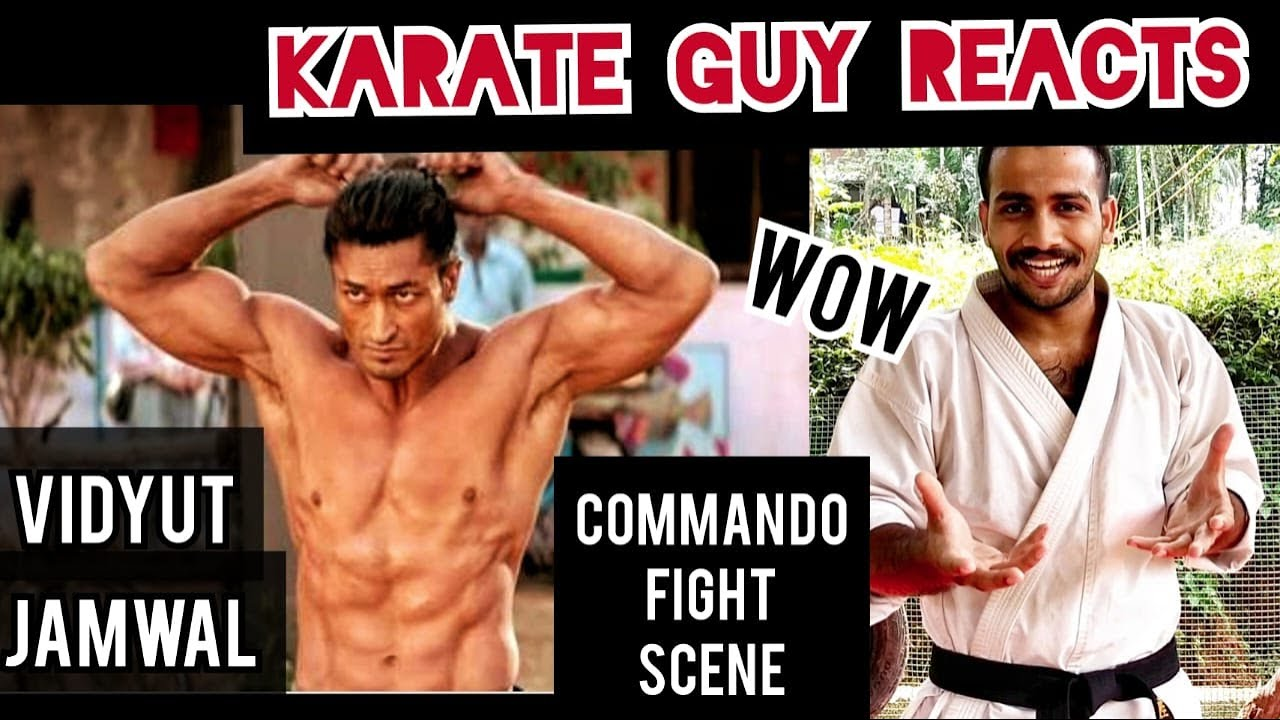 COMMANDO 3 FIGHT SCENE REVIEW / KARATE GUY REACTS