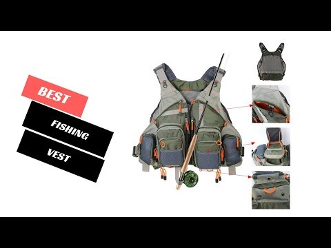 Best Fishing Vest 2020 - Fishing Vest Reviews