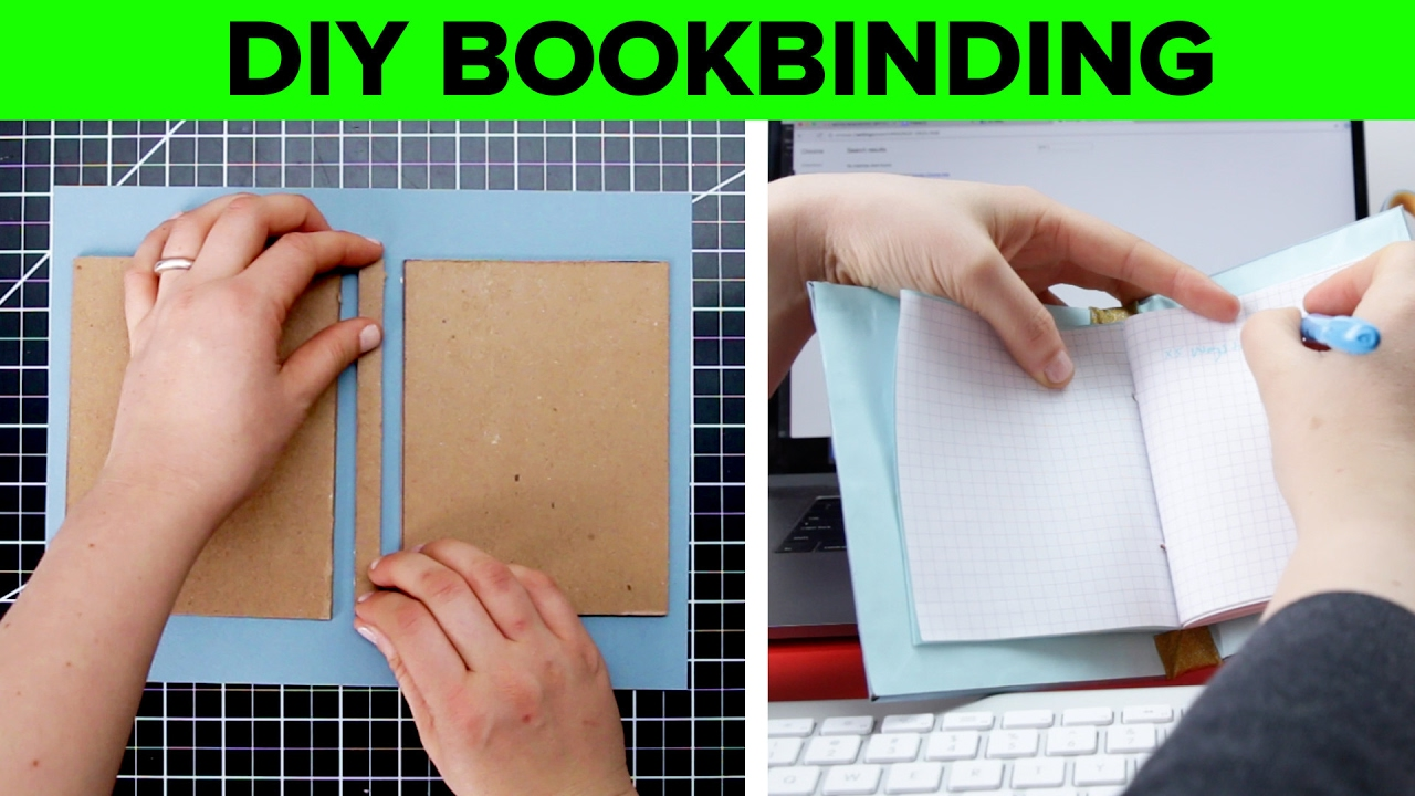 Diy hard cover bookbinding youtube diy hard cover bookbinding solutioingenieria Choice Image