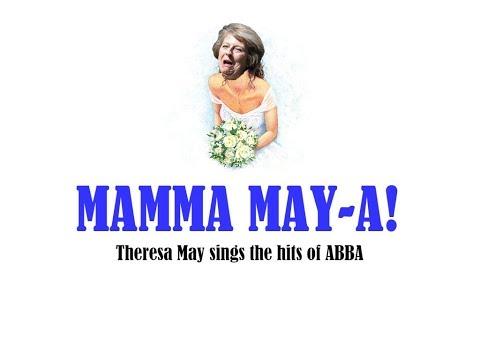 Mamma May-a! Theresa May sings ABBA's greatest hits