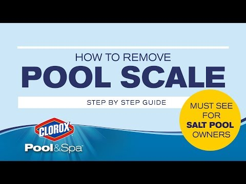 How To Remove Pool Scale - Treat And Prevent Scaling On Pool Tiles And Equipment:  Clorox® Pool&Spa™