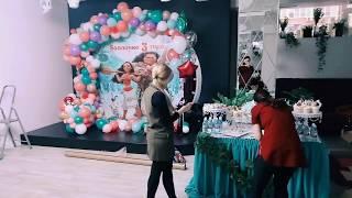 Оформление День рождения ребёнка! В стиле гавайской вечеринки