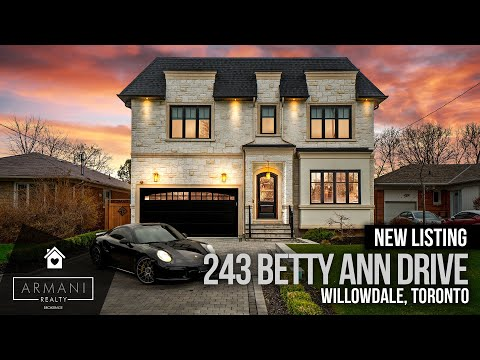 SOLD! 243 Betty Ann Drive In North York, Toronto (Ontario, Canada)