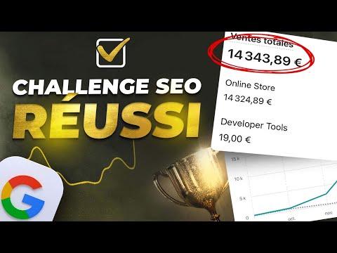10 000€ / MOIS grâce au DROPSHIPPING : CHALLENGE SEO RÉUSSI !