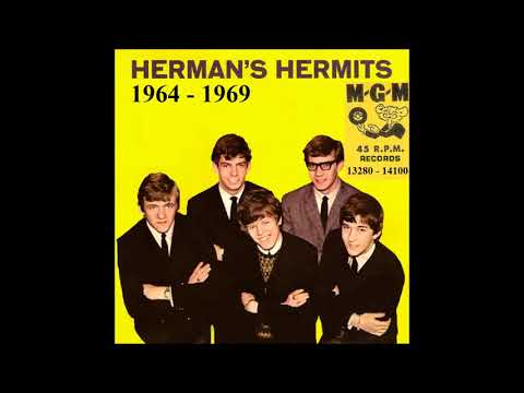 Herman's Hermits - MGM 45 RPM Records - 1964 - 1968