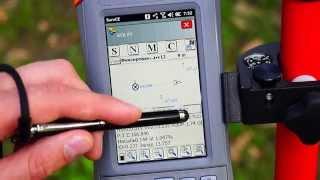 Вынос в натуру с приемником EFT M1(Видеоинструкция по работе с GNSS приемником EFT M1 Вынос в натуру с приемником EFT M1., 2014-10-14T09:18:29.000Z)