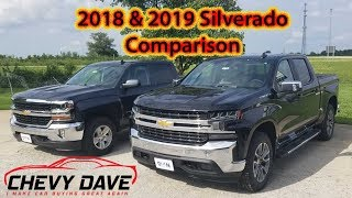 2018 and 2019 Chevy Silverado Side by Side Comparison
