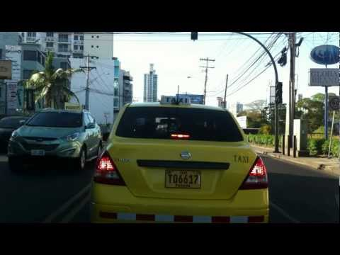 Driving in Panama streets ( watch the end the police )